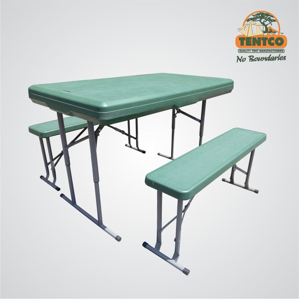 Tentco Table and 2 Benches